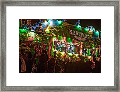 Night Parade Framed Print