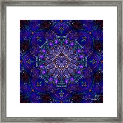 Framed Print featuring the digital art Night Party 3d Art by Hanza Turgul