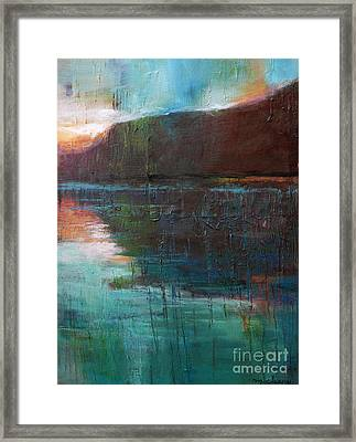 Night Passage Framed Print by Melody Cleary