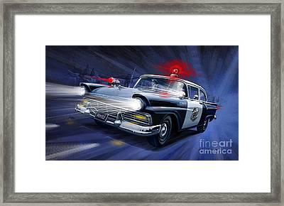 Night Patrol Framed Print