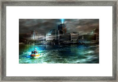 Night Patrol Framed Print
