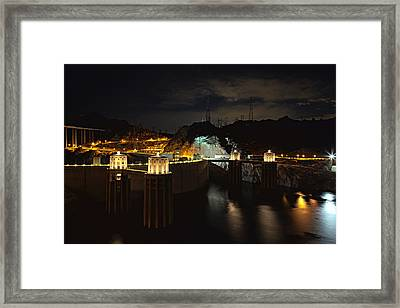 Framed Print featuring the photograph Night Poetry by James Sage