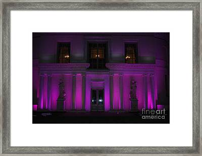 Framed Print featuring the photograph Night Purple by George Mount