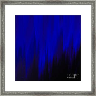 Night Rain Framed Print
