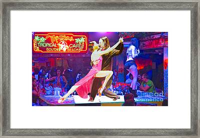 Night Rhythm Framed Print by Judy Kay