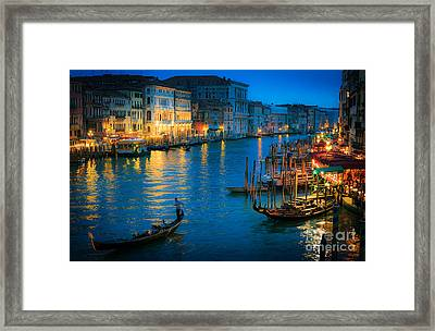 Night Romance Framed Print