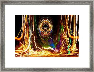 Night Run 2 Framed Print