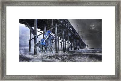 Night Run II Framed Print by Betsy Knapp