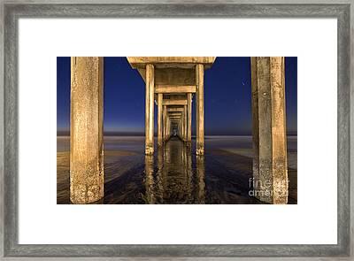 Night Scripps Framed Print