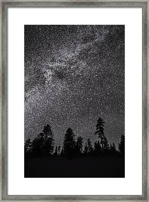 Night Serenity Framed Print by Nancy Strahinic