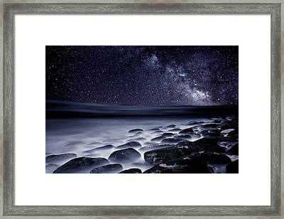 Night Shadows Framed Print