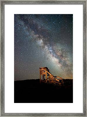 Night Shift Framed Print by Cat Connor