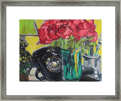 Night Shift Framed Print by Rivkah Singh
