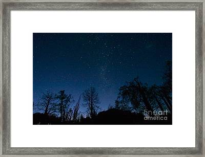 Night Sky And Milky Way, S. Madagascar Framed Print