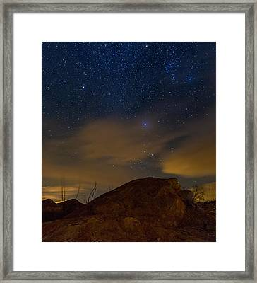 Night Sky Framed Print by Beverly Parks