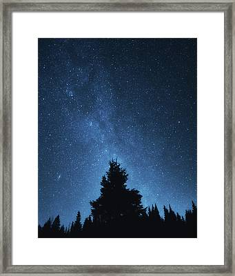 Night Sky Framed Print by Misha Kaminsky
