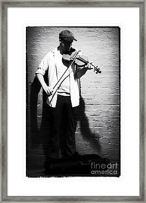 Night Solo Framed Print by John Rizzuto