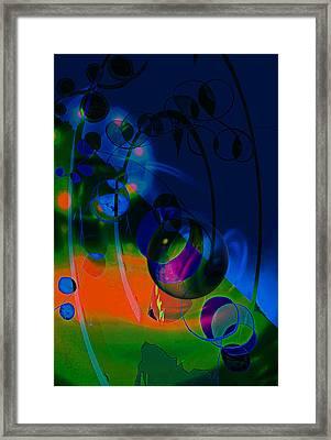 Night ...sracts Framed Print by Allen Beilschmidt
