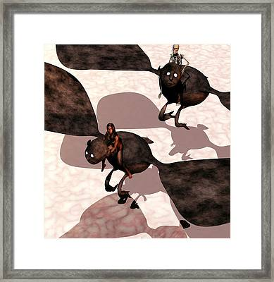 Night Terrors Framed Print