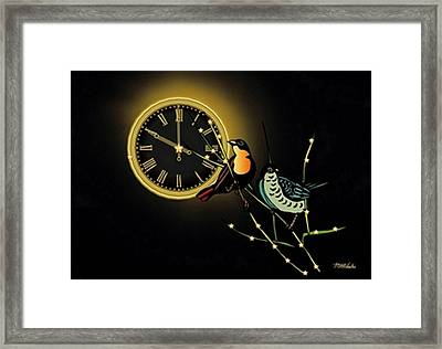 Night Time Framed Print