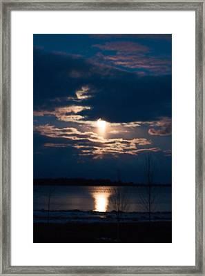 Night Time Reflection Framed Print by Rhonda Humphreys