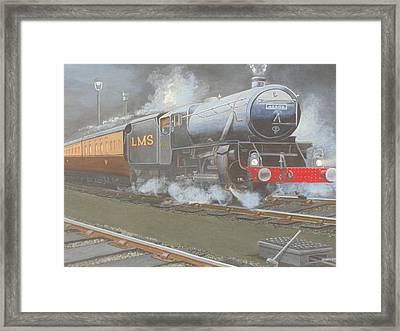 Night Train Framed Print by James Lawler