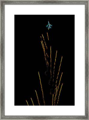 Night Warfare Framed Print