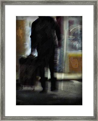 Night Wash Framed Print by Lin Haring