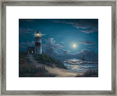 Night Watch Framed Print by Kyle Wood