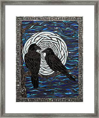 Night Watch Framed Print by Mary Ellen Bowers