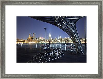Night Watchman Framed Print by Mike Lang