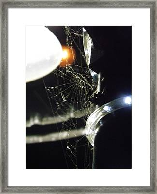 Night Web Framed Print