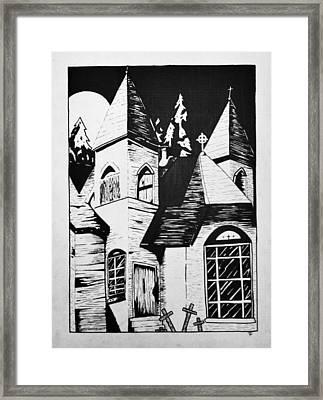 Night Whispers  Framed Print by Rachel  Ledford