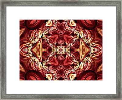 Night With A Queen Framed Print by Georgiana Romanovna