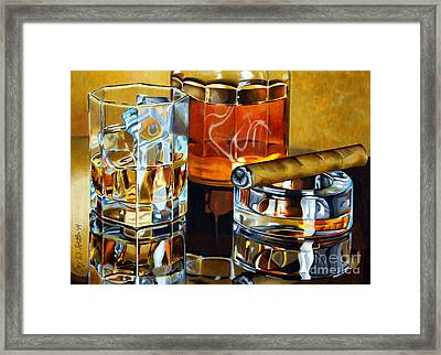 Nightcap 2 Framed Print
