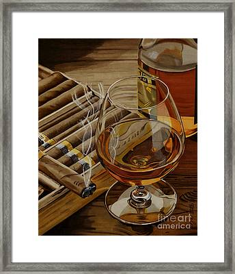 Nightcap Framed Print