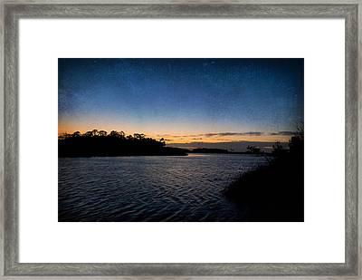 Nightfall Framed Print by Beverly Stapleton