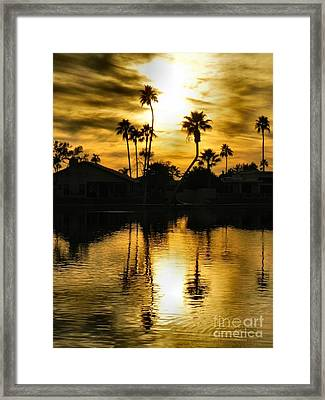Nightfall Framed Print by Deb Halloran