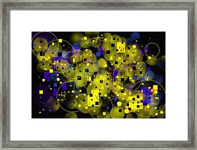 Framed Print featuring the digital art Nightfall by Lena Wilhite