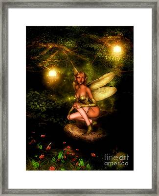 Nightglow Framed Print by Putterhug  Studio