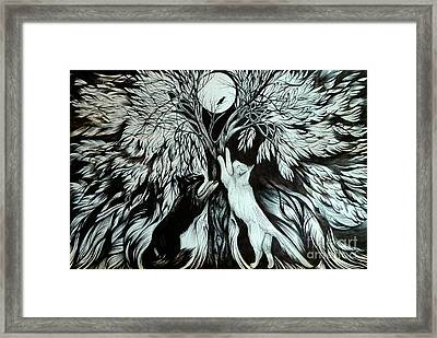 Nightingale Song. The End Framed Print