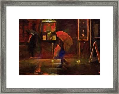 Nightlife Framed Print by Michael Pickett