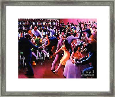 Nightlife Framed Print
