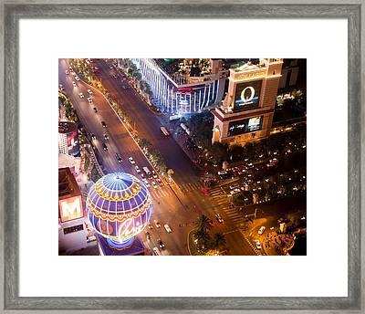 Nightlife Framed Print by Richie Stewart