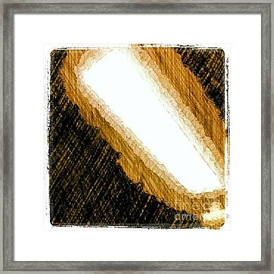 Nightlight #1stangel #art Framed Print