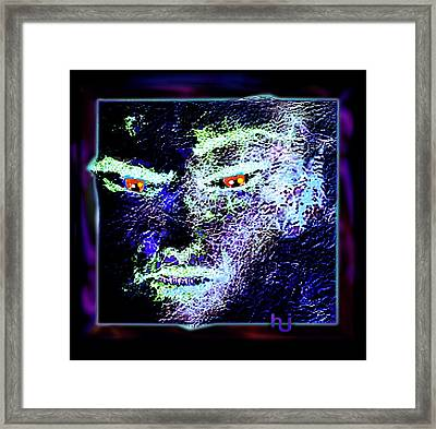 Nightmare Framed Print by Hartmut Jager