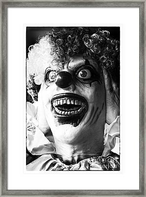 Nightmare Framed Print by John Rizzuto