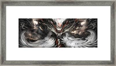 Nightmares Before Christmas Framed Print by Alex Ruiz