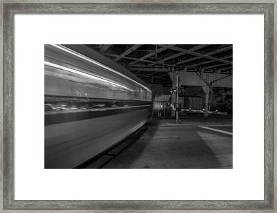 Nightrain Framed Print