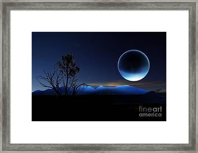 Nightrise Framed Print